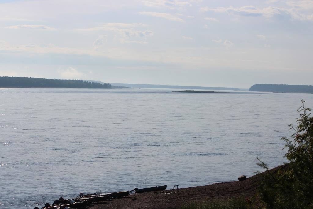 Примерно здесь, на берегу Енисея, и планируют построить ЦБК