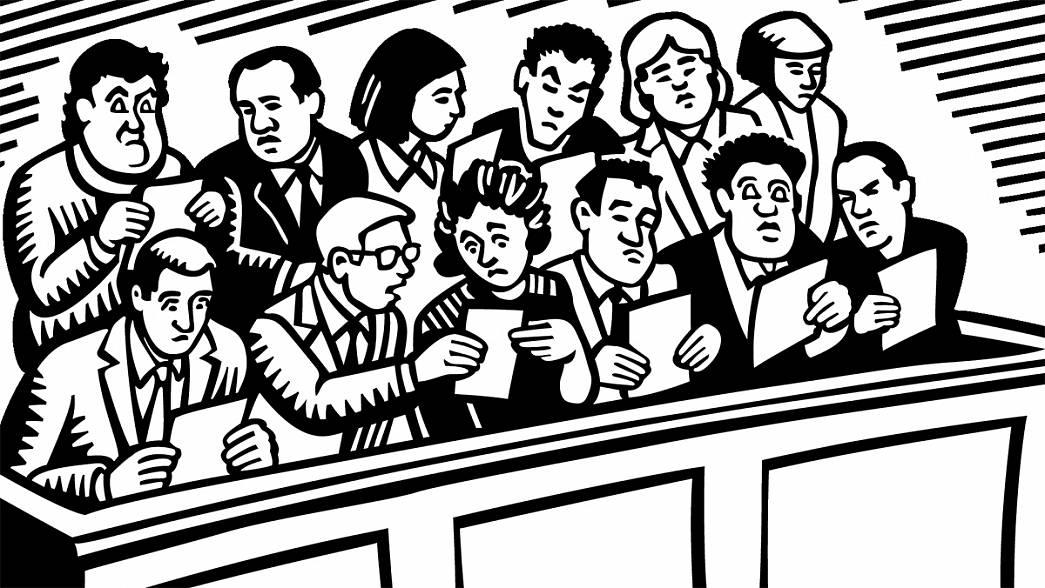 Суд присяжных слушает дело о заказном убийстве